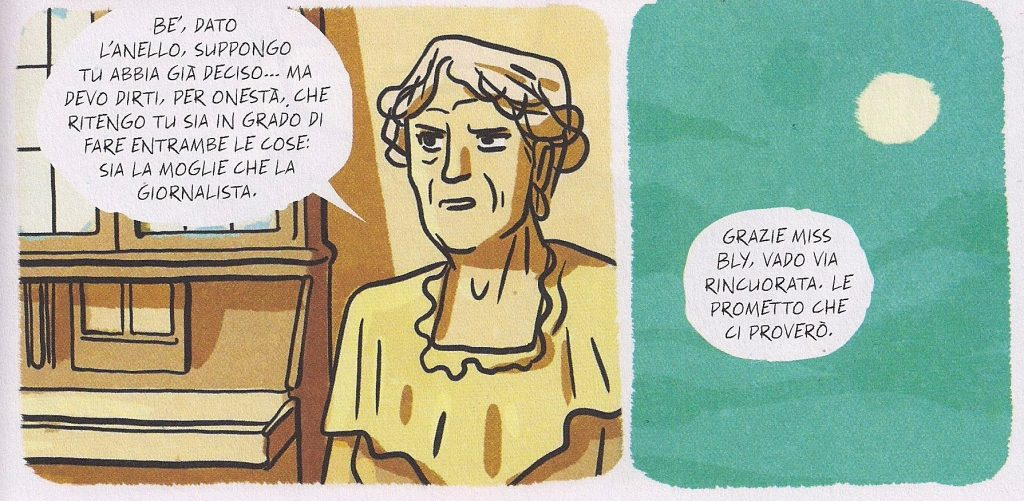 tunué, cimino, algozzino, graphic novel, nellie bly